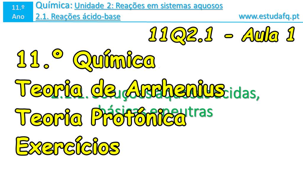 11Q2.1 - Aula 1