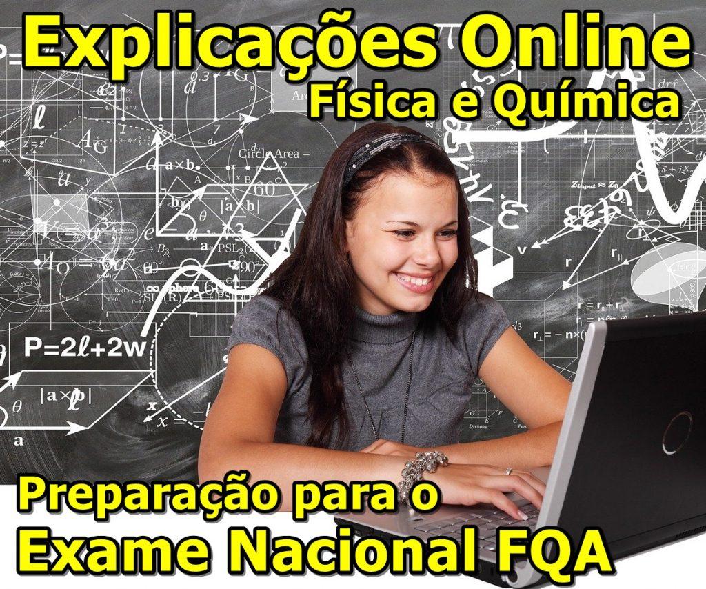 Explicação online Física e Química FQA