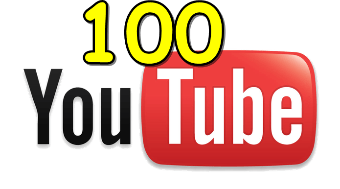 100 inscritos youtube