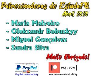 Patrocinadores de Abril