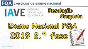 Exame FQA 2019 2.ª fase