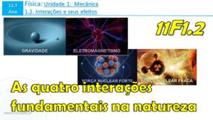 Aula 1 | As quatro interações fundamentais na natureza