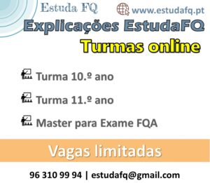 Turmas online Explicações FQ Preparação exame nacional