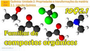 Famílias de compostos orgânicos | Grupos funcionais | Aula 6