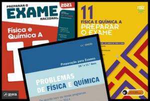 Melhores livros para preparar o Exame Nacional FQA 2021